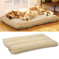 Orthopedic Dog Bed Pet Lounger Deluxe Cushion for Crate Foam Soft - Large M L XL