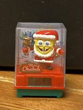 Solar Dancing Bobblehead Figurine Toy - Spongebob - Merry Christmas