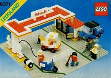 Lego Vintage 6371 Shell Service Station,100% Complete, Instructions, 1983 Set
