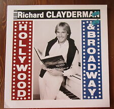 RICHARD CLAYDERMAN RARE LP HOLLYWOOD & BROADWAY AUSTRALIAN