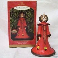 Hallmark Ornament -- Star Wars -- Queen Amidala -- 1999