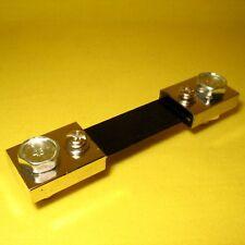 Current Shunt for Ammeter 75A 75mV Resistor Battery Digital Analog Meter 75 Amps