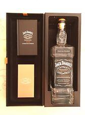 Jack Daniels Sinatra Select EMPTY 1 Liter Bottle Book Invitation Card Box