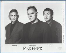 Pink Floyd 1994 Publicity/Press Photo David Gilmour Nick Mason Rick Wright