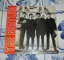 """THE BEATLES """"KANSAS CITY+3 CANCIONES"""" DE 7"""" ESPAÑA 1964"""