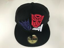 New Era X TRANSFORMERS *rare* Revenge Of The Fallen With Interchangeable Logos!