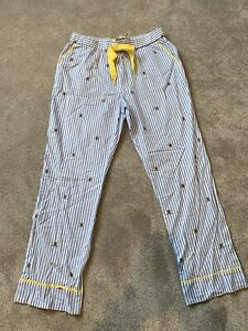 Joules Bee PJ Bottoms Size 12