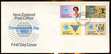 New Zealand 1983 Commonwealth Day FDC First Day Cover #C12828