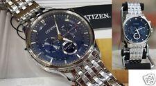 Citizen Eco-Drive Moon Phase Moonphase Japan Sapphire Gent Blue face AP1050-56L