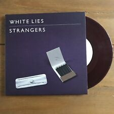 "White Lies - Strangers  7"" Purple Vinyl"