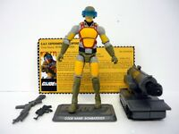 GI JOE BOMBARDIER Collector's Club Action Figure FSS 2-09 COMPLETE C9+ v1 2014