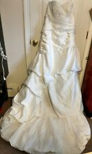 Beautiful Unbranded / Altered Wedding Dress with Train~ See pictures