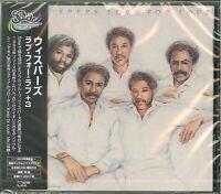 WHISPERS-LOVE FOR LOVE+3-JAPAN CD BONUS TRACK Ltd/Ed D86