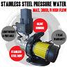 1200W Stainless Steel Pressure Rain Water Tank Pump Pool Pond Garden Irrigation