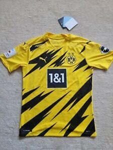 Dortmund BVB Trikot Gr. M SANCHO authentic (M) Spielertrikot 2020/21 Puma