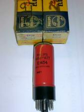 Philips  EM34 6CD7 tuning indicators, Magic Eye x 2 new Old Stock RARE 1950's