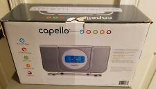 Capello Wake Up Dual Alarm Clock with Digital Am/Fm Radio Cd Player Cr25