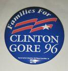 VINTAGE DNC PA DELEGATION PRESIDENT BILL CLINTON GORE CAMPAIGN BUTTON PIN 1996