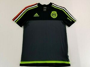 Mexico Soccer Jersey Shirt 2015 Adidas Youth L