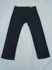 Diesel Timmen délavage 008Z8 homme Dark Wash Braguette Boutonnée Jeans 32/26 très bon état