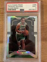 2019-20 Panini Prizm #286 Tremont Waters RC SILVER Rookie PSA 9 Boston Celtics