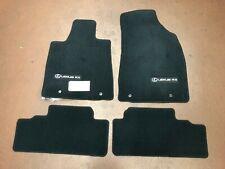 LEXUS RX350/RX450H 2010-2012 BLACK 4PCS CARPET FLOOR MATS PT206-48110-20
