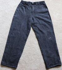 Marithe Francois Girbaud Men Baggy Loose Light wash black Jeans sz 34 M A9