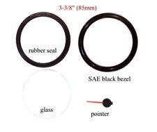 Gauge repair kit, gauge bezel, seal rubber, glass, needle, 1 set