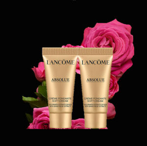 Lancome Absolue Soft Cream with Grand Rose Extracts 10ml (2x5ml) New Unboxed