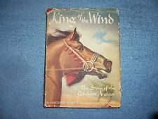 KING OF THE WIND by Marguerite Henry/1st Ed/HC/Childrens/Literature/Illustrated