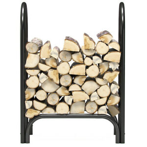 """Regal Flame 28"""" Indoor Outdoor Heavy Duty Firewood Shelter Fireplace Log Rack"""