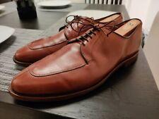 Allen Edmonds Delray Mens Split Toe Shoe Size 11.5 D Derby EUC Chili
