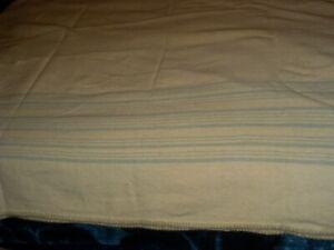 "68/"" x 76/"" Vintage UNUSED Early/'s of Witney cream cellular blanket"