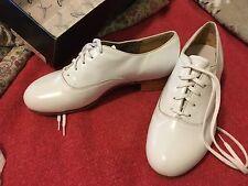 New Capezio K360 tap shoes,  white, size 6D!