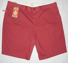 New Mens Dockers Classic The Perfect Shorts Brick Red Cotton Dress Size 42