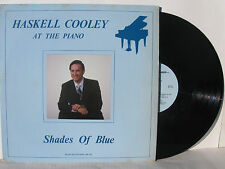 Haskell Cooley at the Piano Shades of Blue vinyl Lp Cathedral Quartet Nm!