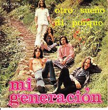 """7"""" MI GENERACION otro sueño / di porque SPANISH rare PALOBAL 1972 FOLK PSYCH 45"""