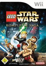 Nintendo Wii Spiel LEGO Star Wars Die komplette Saga GUT