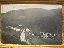 cpa 42 bellegarde en forez vallee de l'anzieu et le viaduc