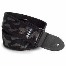 Dunlop D38-10GY 2in Classic nylon guitar strap. Camo Grey, D-38