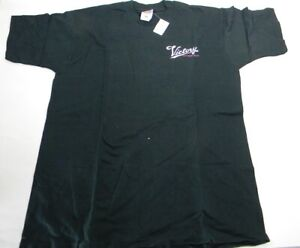 Vintage Victory Motorcycle T shirt Men's Black Large New Old Stock