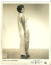 Miss Jay Kennedy Original 8� X10� 1950's Kriegsmann Promotional Photograph