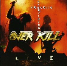 Wrecking Everything-Live - Over Kill (2009, CD NEUF)