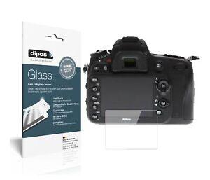 2x Nikon D610 Protection ecrán Verre souple Film Protecteur 9H dipos