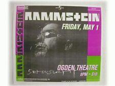 2 Rammstein Handbill poster