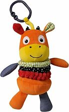 Suncrest - Funberry Farm Mikey Moon Jittery Newborn Baby Toy