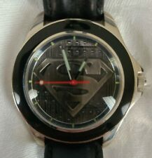 Fossil Death of Superman Watch-Pin Limited Edition Set #2284/10000