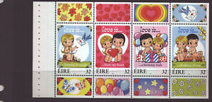 1998 Greetings Booklet Pane MNH HP99 from HB62 SB62 Postage Combined
