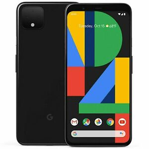 Google Pixel 4 XL 64/128GB Verizon Tmobile AT&T Sprint Unlocked 4G Smartphone