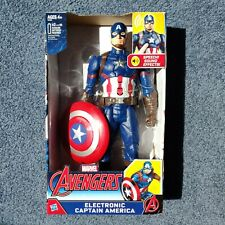 Marvel Avengers Electronic Captain America 12-inch Action Figure by Hasbro